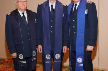 Chaplain Charlie Sattgast Receives Stole as the Civil Air Patrol Chief of Chaplain Corps