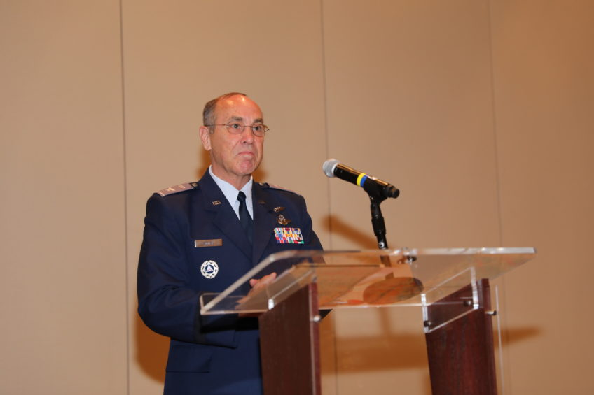 "Civil Air Patrol ""Commander's Call to Prayer"" Includes Investiture and Keynote Address"