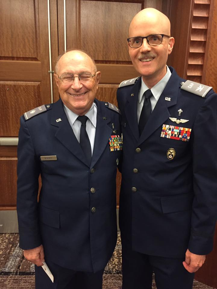 CAP Chaplain David Bobbey Feted by Military Chaplains Association