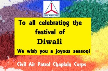 "Chaplain Corps Wishes ""Happy Diwali"" to All Celebrating"