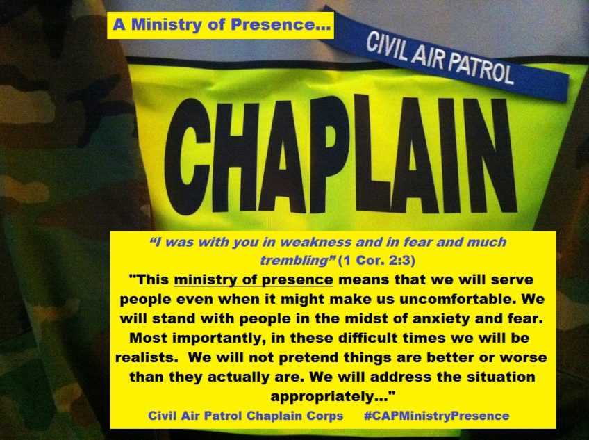 The Civil Air Patrol Chaplain Corps' Ministry of Presence: The Series